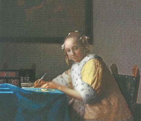 Donna che scrive