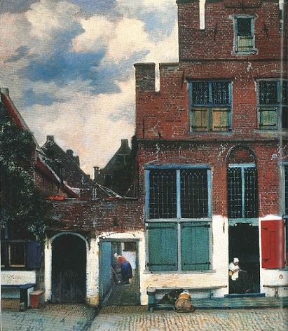 la stradina di Delft 1