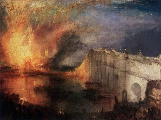 Turner incendio delle camere 1