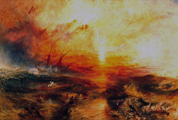 Turner la nave negriera