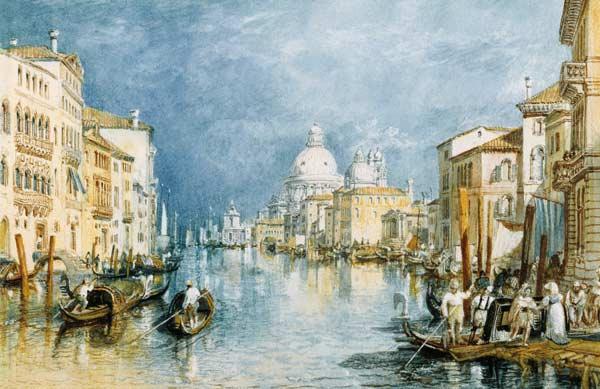 Turner quadro Venezia canal Grande