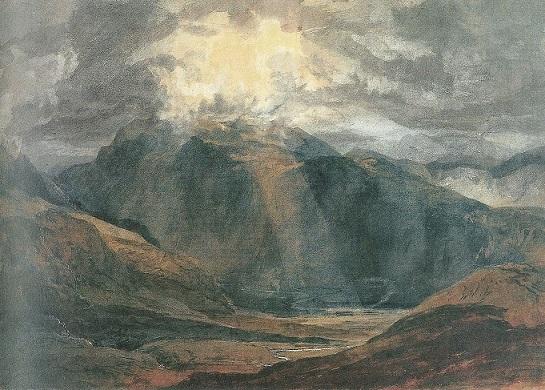Turner veduta verso snowdon