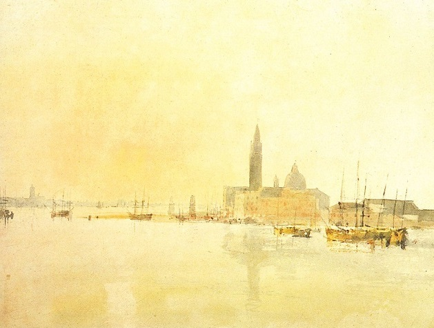 Turner Venezia San Giorgio maggiore primo mattino
