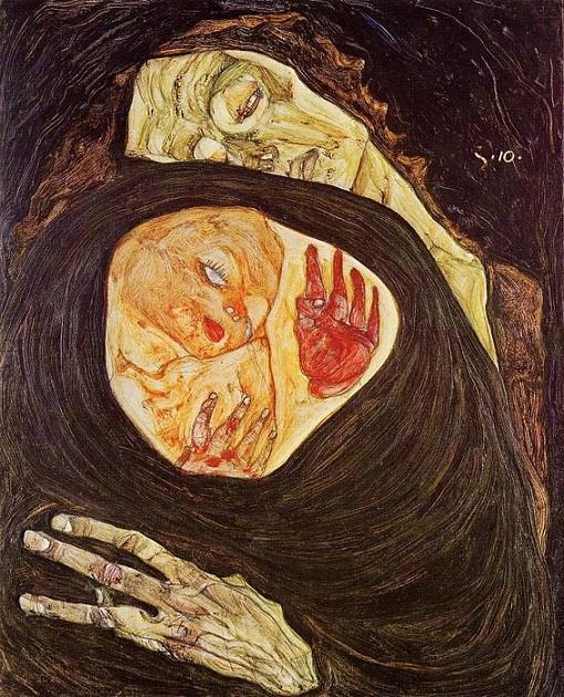 egon schiele la madre morta 3