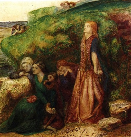Elizabeth Siddal the ladies lament