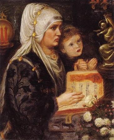 quadro Rosetti le due madri