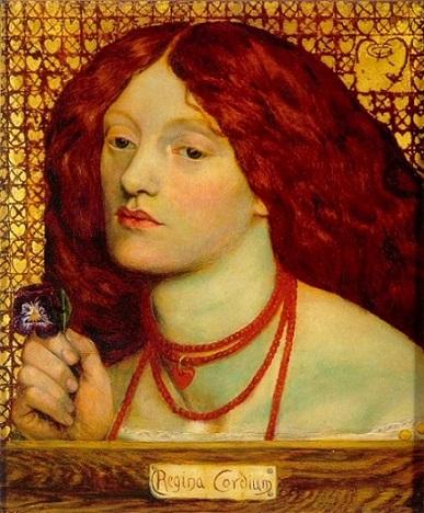 quadro Rossetti regina cordium