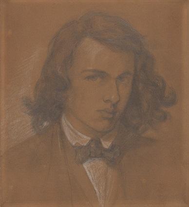 Rossetti autoritratto