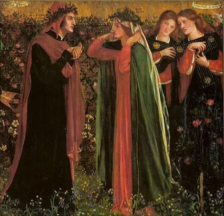 Rossetti il saluto di Beatrice 1