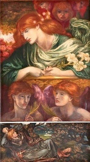 Rossetti, Dante Gabriel, 1828-1882; The Blessed Damozel