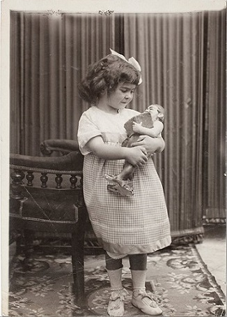 foto Frida bambina